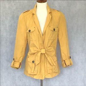 Cartonnier by Anthropologie golden yellow jacket